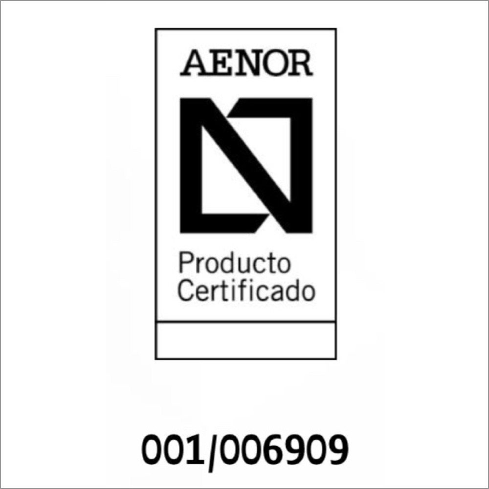 Certificado AENOR Productos Plásticos