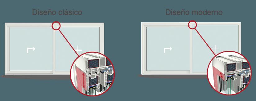 Tipos de diseño Elevable JOMA S/9000